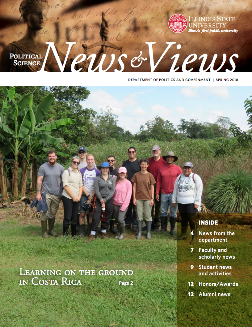 Cover image of Spring 2018 Newsletter